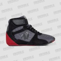 Gorilla Wear кроссовки Perry High Tops Pro Gray/Black/Red