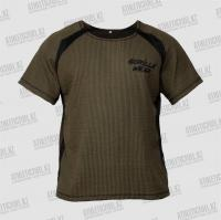 Фото Gorilla Wear Футболка Augustine Old School Out Top Army Green